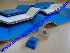 Twinwall Corrugated PVC