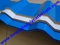 Twinwall Corrugated PVC Sheet PVC Hollow Sheet Corrugated PVC Roofing Sheets