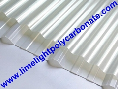 Corrugated polycarbonate sheet pc sheet polycarbonate sheet roof tile pc roofing