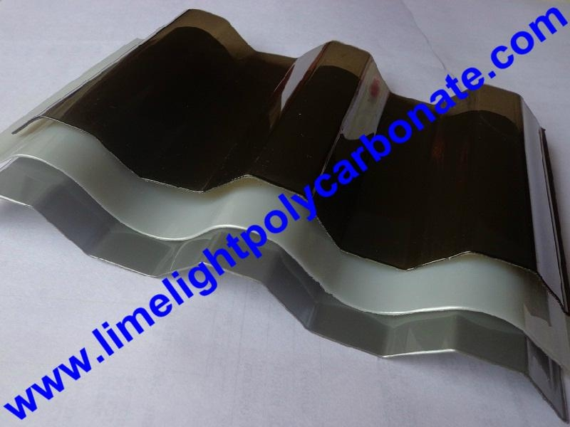 Corrugated polycarbonate sheet pc sheet polycarbonate sheet roof tile pc roofing 1