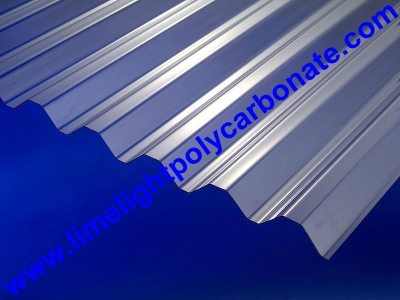 Corrugated polycarbonate sheet pc corrugated sheet roof tile polycarbonate sheet