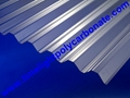 Corrugated polycarbonate sheet pc corrugated sheet roof tile polycarbonate sheet