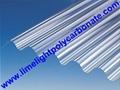 Corrugated polycarbonate sheet pc corrugated sheet roof tile polycarbonate sheet 2