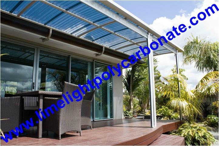 Corrugated polycarbonate sheet, polycarbonate sheet, pc sheet, roof tile 3