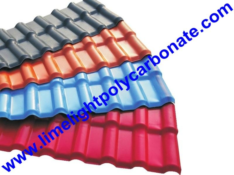ASA Composite Roofing Sheet ASA Roofing Tile ASA Corrugated Sheet PVC Roofing 2
