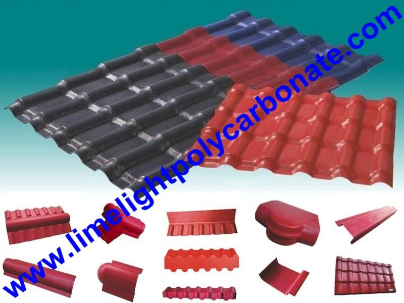 ASA Composite Roofing Sheet ASA Roofing Tile ASA Corrugated Sheet PVC Roofing 5