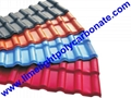 Synthetic Roofing Tiles Spanish Roofing Tiles PVC Roofing Sheet PVC Corrugated 2