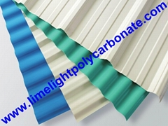 Anti-Corrosive PVC Corrugated Sheet UPVC Roofing Panel PVC Roofing Tiles