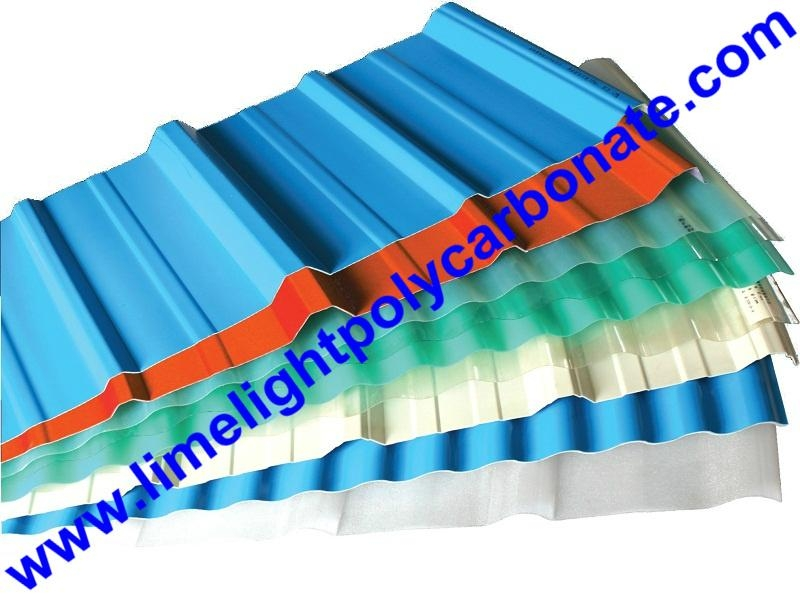 Anti-Corrosive PVC Corrugated Sheet UPVC Roofing Panel PVC Roofing Tiles 15