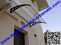 DIY awning canopy polycarbonate awning door canopy window awning DIY canopy kits