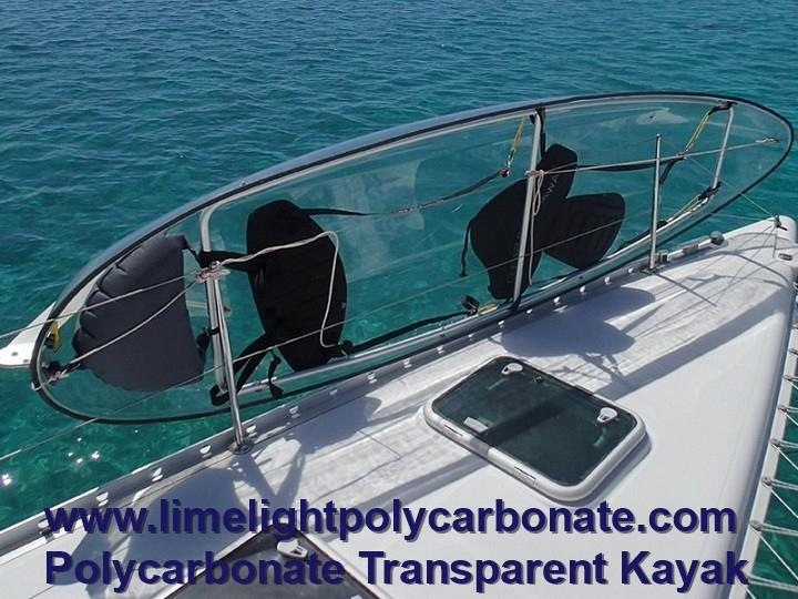 polycarbonate kayak PC clear canoe