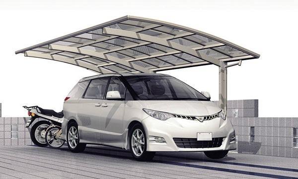 single plus aluminium carport