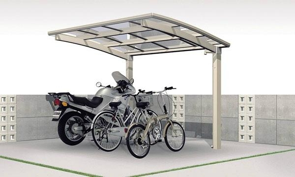 Mini bike shelter
