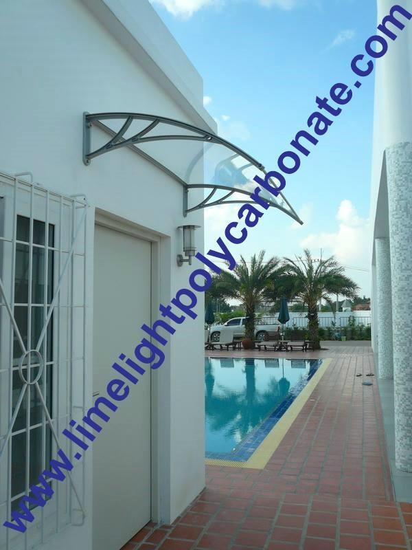 Polycarbonate Door Canopy