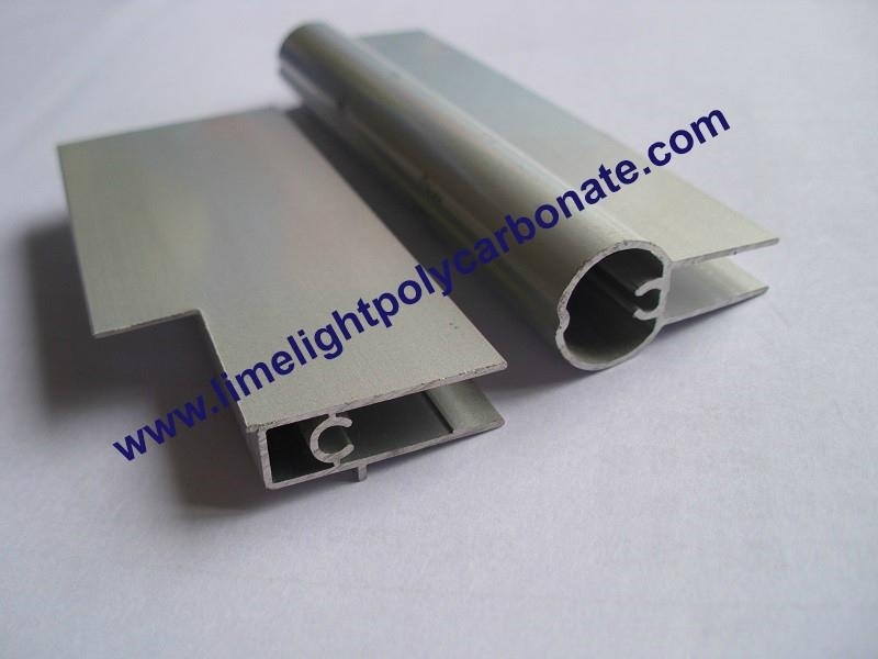 Aluminium fixing bars(frontal & back)