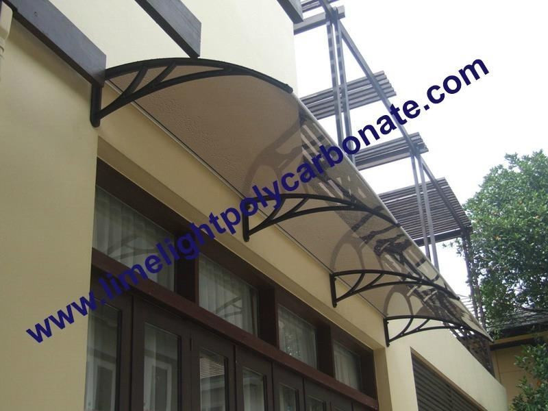 Polycarbonate awning DIY awning door canopy window awning rain awning rain shed rain shelter PC awning & polycarbonate awning DIY awning door canopy window awning