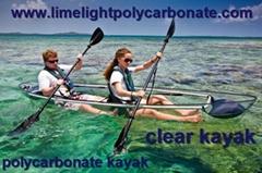 polycarbonate kayak canoe polycarbonate transparent kayak canoe PC clear kayak (Hot Product - 1*)