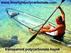 polycarbonate kayak cano