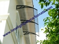 polycarbonate awnings & canopies door canopy window awning DIY awning pc awning