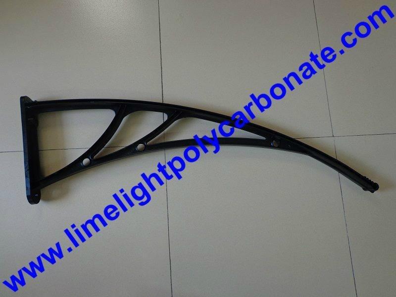 Black awning bracket
