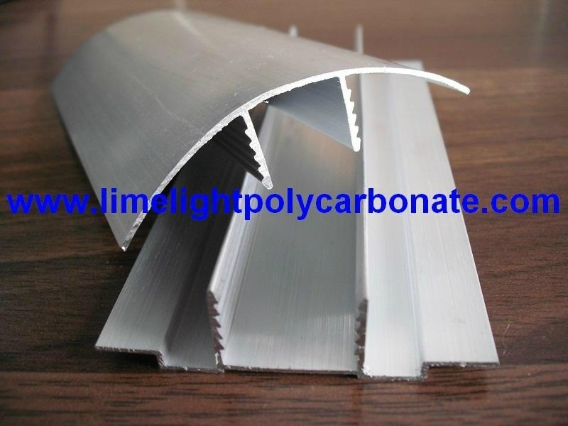 Aluminium Cap and Base Profile