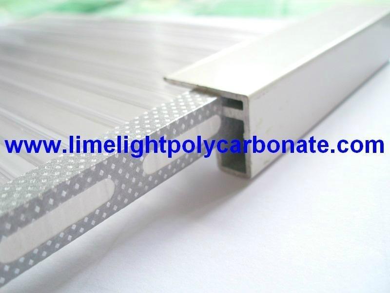 Aluminium U profile-3