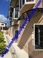 awning canopy polycarbonate awning door canopy window awning DIY awning sunshade 3