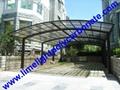 M shape carport aluminium carport polycarbonate carport garage carport aluminum 1