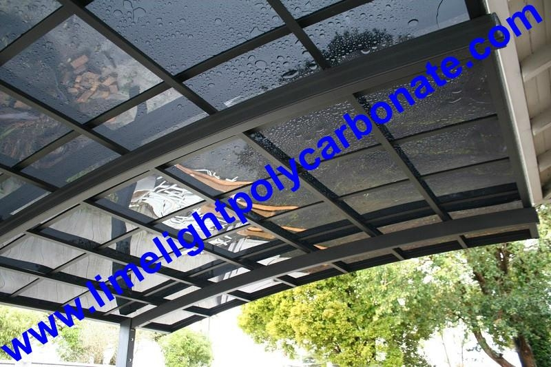 polycarbonate glazing carport