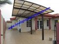 polycarbonate carport aluminium carport mini-carport assemble carport shelter 2