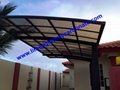 polycarbonate carport aluminium carport mini-carport assemble carport shelter 3