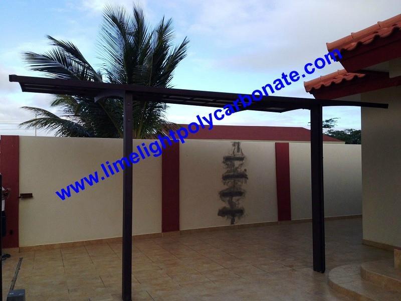 polycarbonate carport aluminium carport mini-carport assemble carport shelter 4
