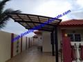 polycarbonate carport aluminium carport mini-carport assemble carport shelter