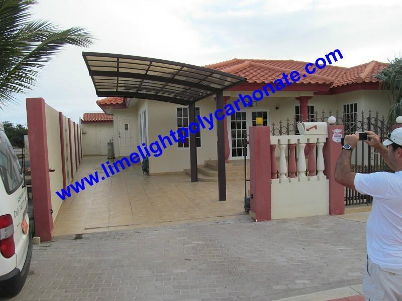 polycarbonate carport aluminium carport mini-carport assemble carport shelter 6
