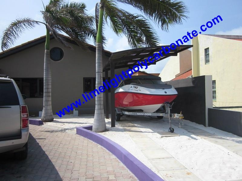 sunshade carport yacht sun protection carport aluminium frame carport boat shed 1