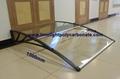1500mm depth aluminium bracket awning