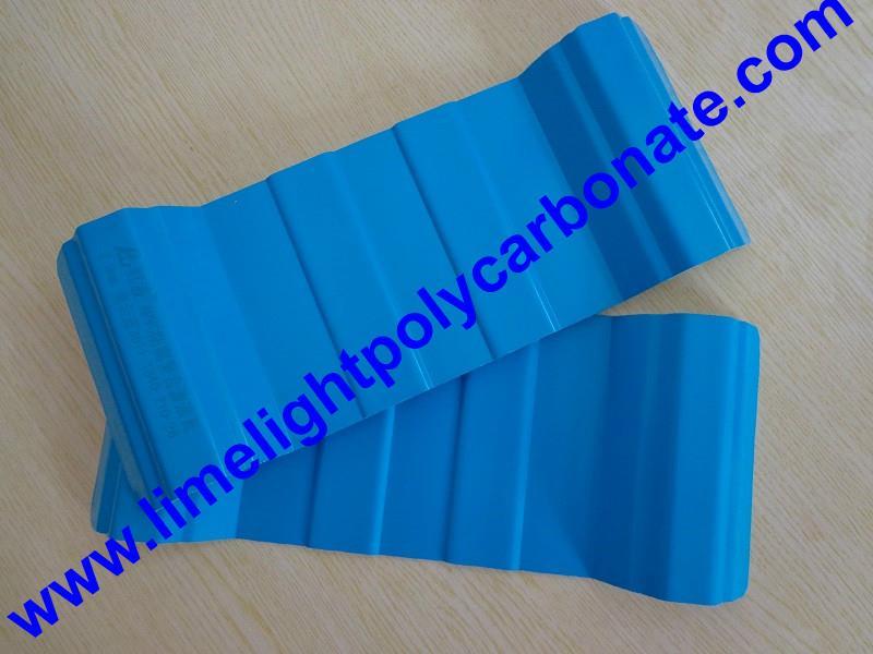 Anti-Corrosive PVC Corrugated Sheet UPVC Roofing Panel PVC Roofing Tiles 4