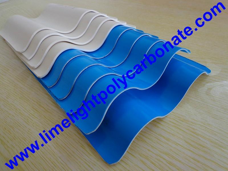 Anti-Corrosive PVC Corrugated Sheet UPVC Roofing Panel PVC Roofing Tiles 5