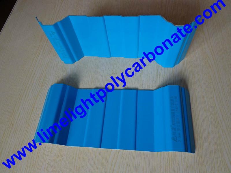 Anti-Corrosive PVC Corrugated Sheet UPVC Roofing Panel PVC Roofing Tiles 6
