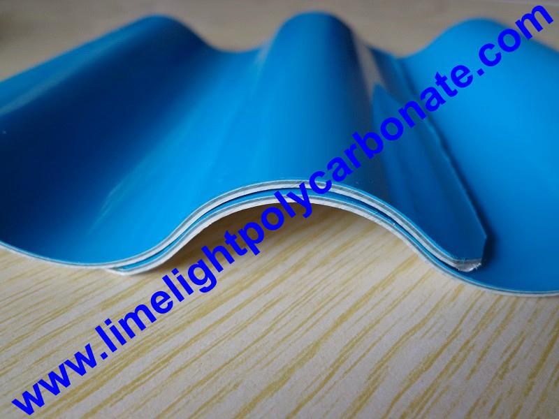 Anti-Corrosive PVC Corrugated Sheet UPVC Roofing Panel PVC Roofing Tiles 9