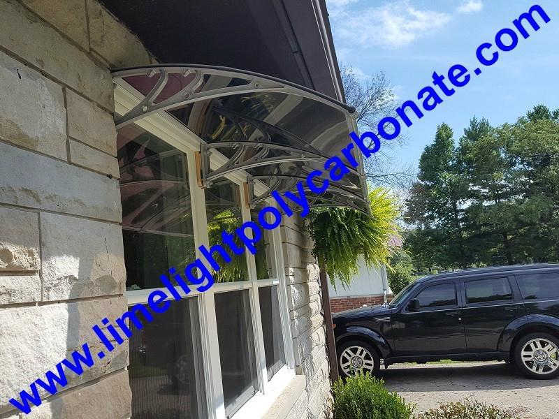 aluminium awning DIY canopy polycarbonate awning door canopy DIY awning PC canopy door roof canopy sunshade awning rain shelter rain shed sun shelter awning DIY kit awning canopy