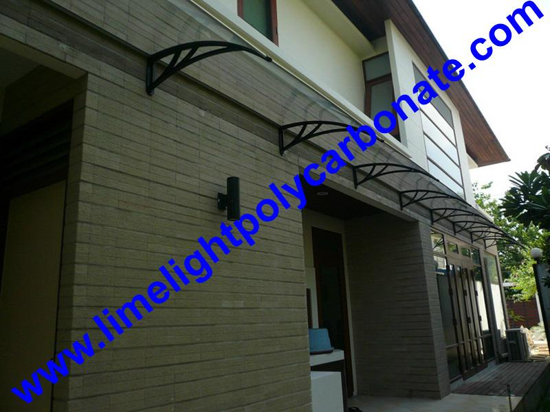 Polycarbonate Awning, Polycarbonate Canopy, Door Canopy, Door Awning,  Window Awning, Window