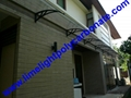 polycarbonate awning door canopy DIY awning canopy awning kit PC canopy 8