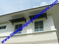polycarbonate awning door canopy DIY awning canopy awning kit PC canopy 16
