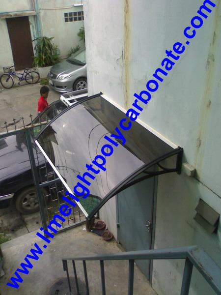 pc awning pc canopy DIY awning door canopy window awning polycarbonate shelter 13