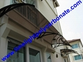 pc awning pc canopy DIY awning door canopy window awning polycarbonate shelter 18