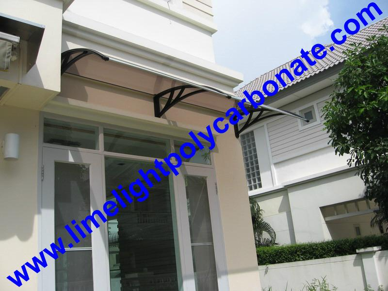 pc awning pc canopy DIY awning door canopy window awning polycarbonate shelter 19
