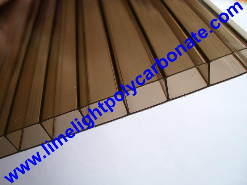 tinted bronze polycarbonate sheeting
