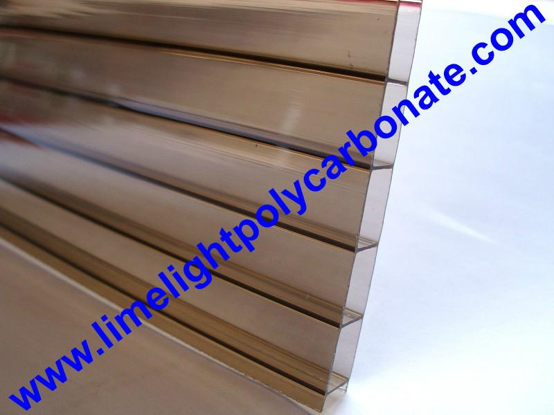 twinwall polycarbonate sheet glazing