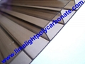 bronze polycarbonate roofing sheet